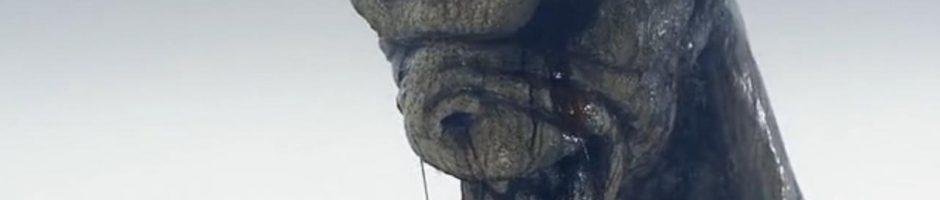 bleeding statue