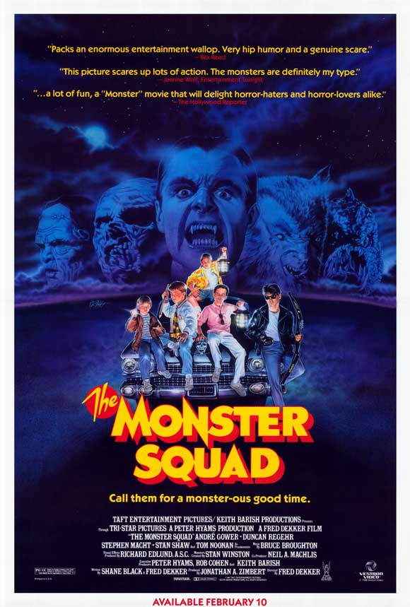the monster squad poster