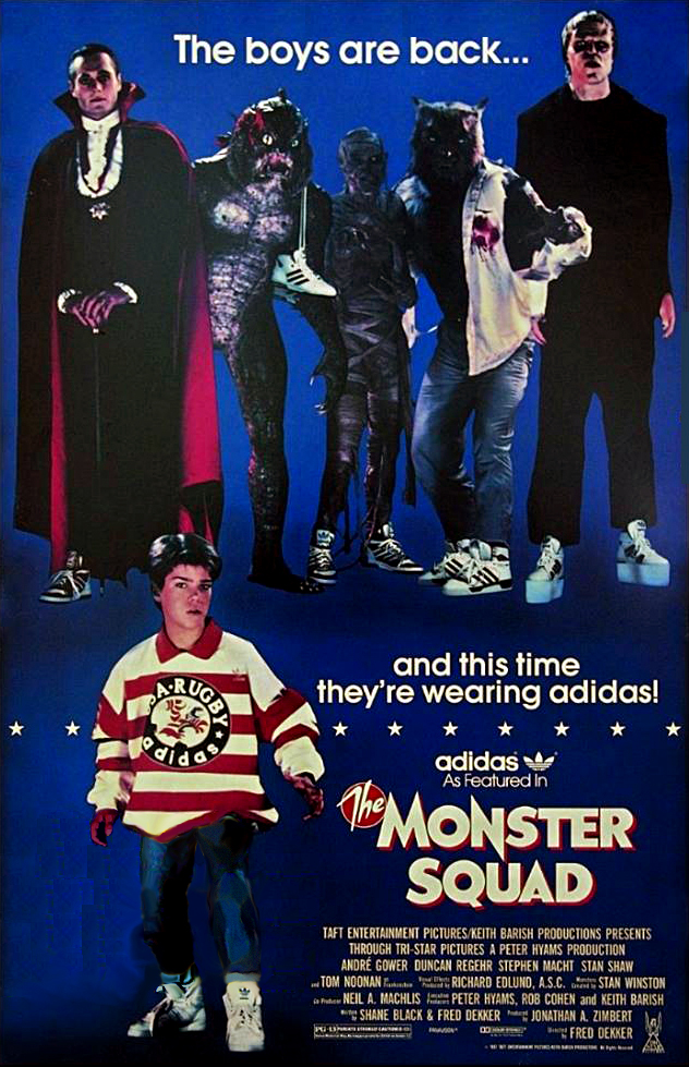The Monster Squad Adidas Ad