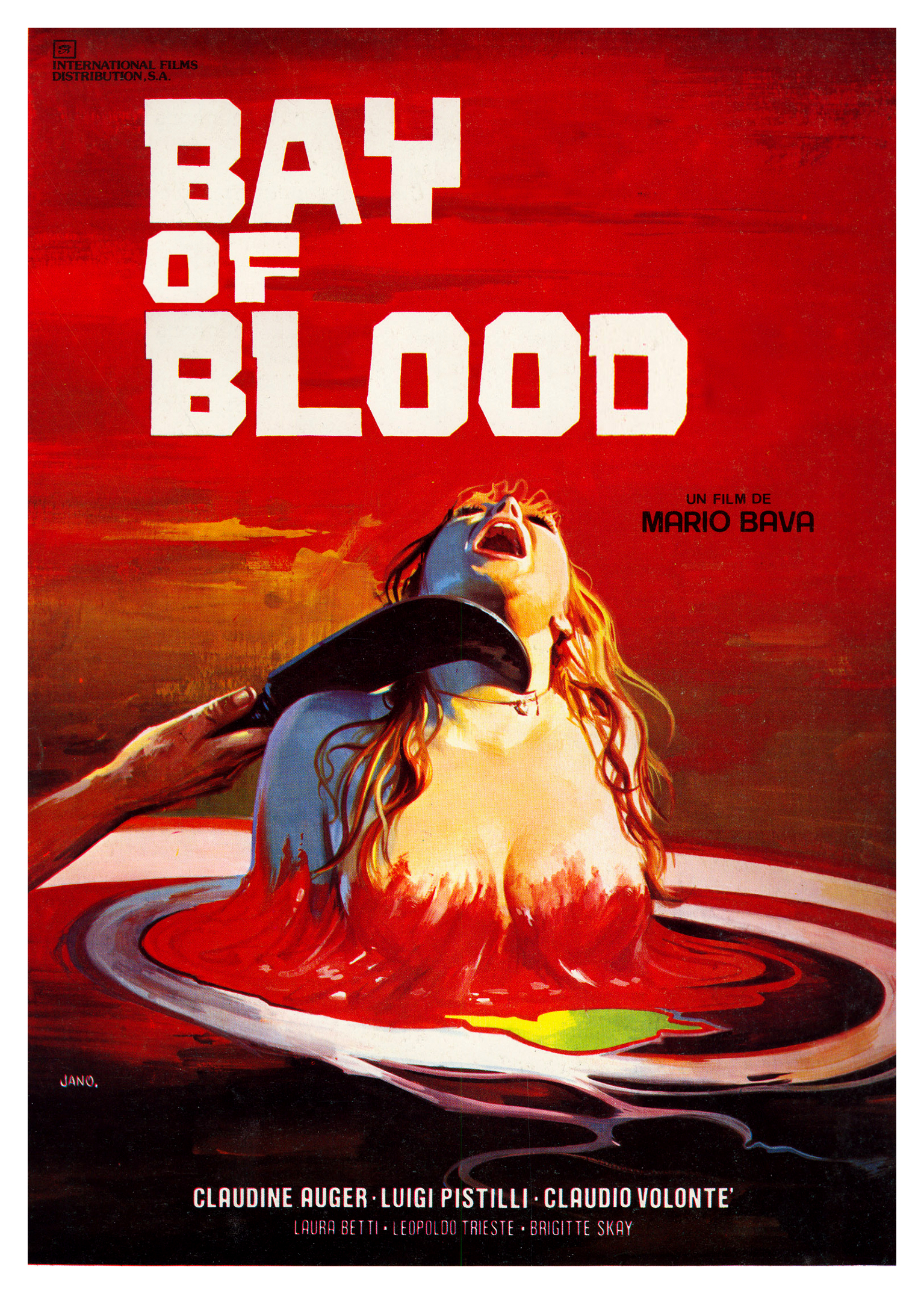 bay of blood poster