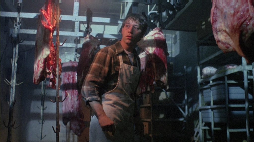 Sam Raimi in meat department