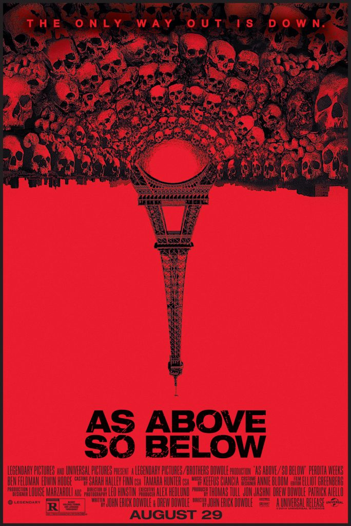 as above so below movie poster