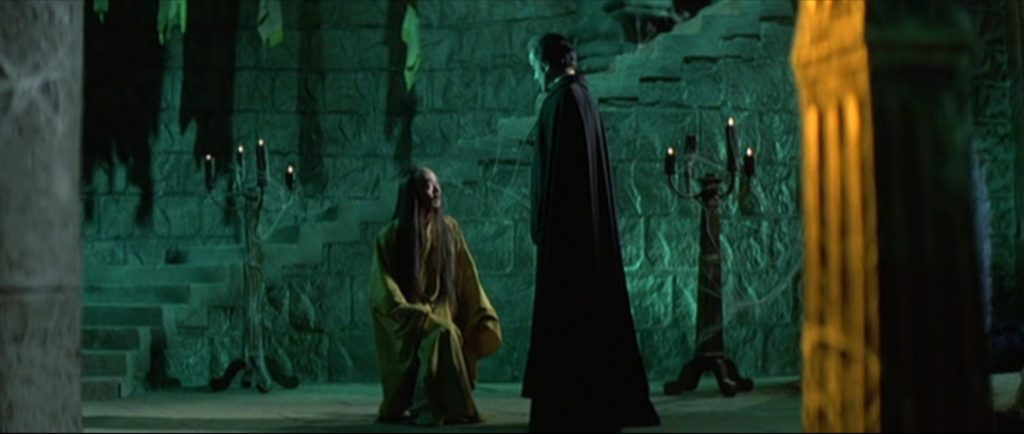 still of 7 golden vampires movie