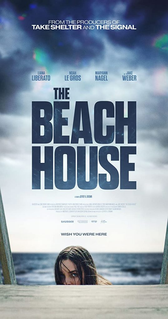 the beach house poster