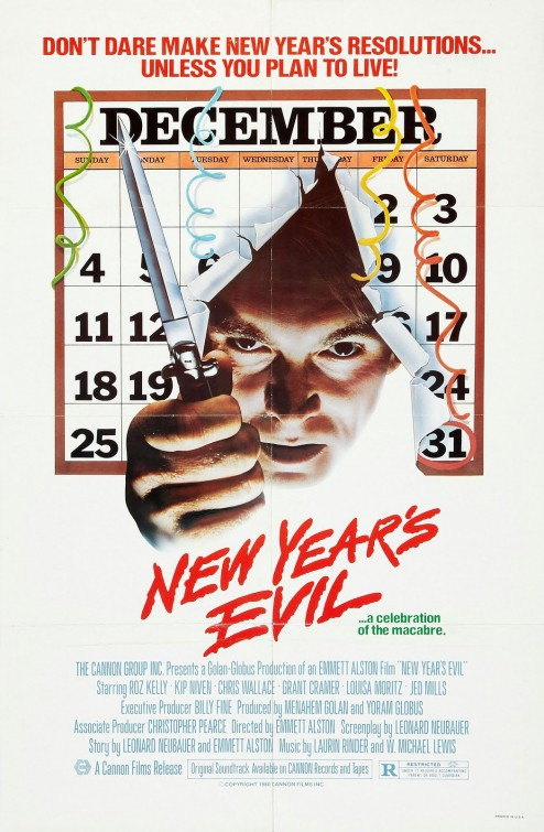 new years evil poster