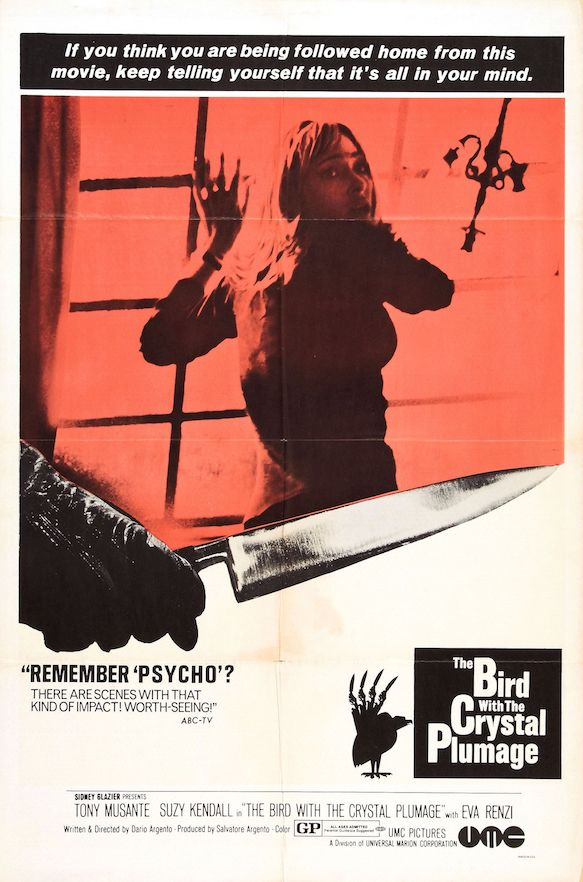 Poster for Bird with the Crystal Plumage
