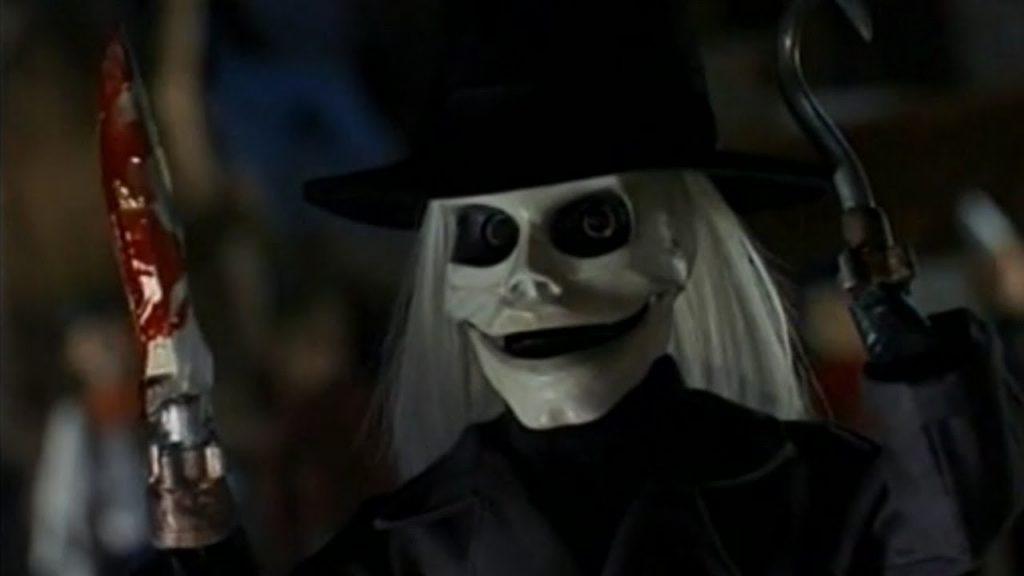 closeup on Blade puppet