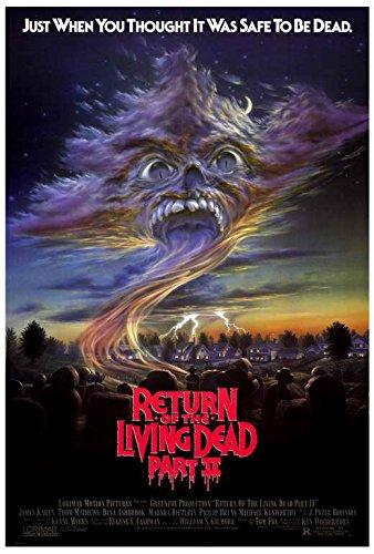 return of the living dead 2 movie poster