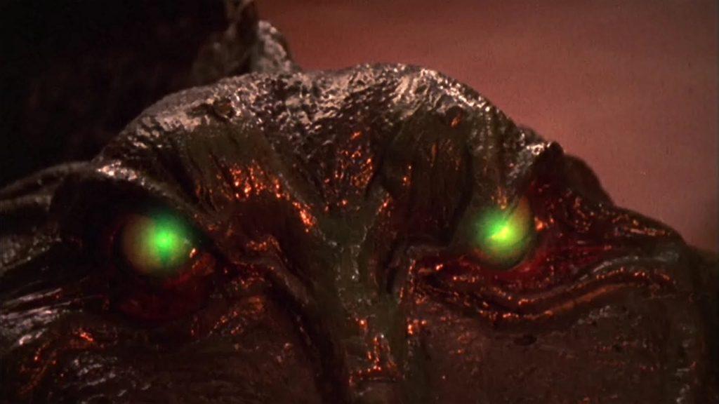 scary alien eyes