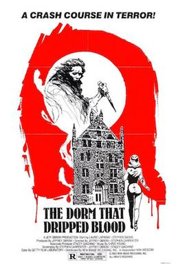 dorm that dripped blood poster