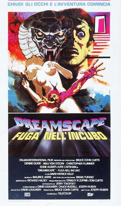 dreamscape italian poster