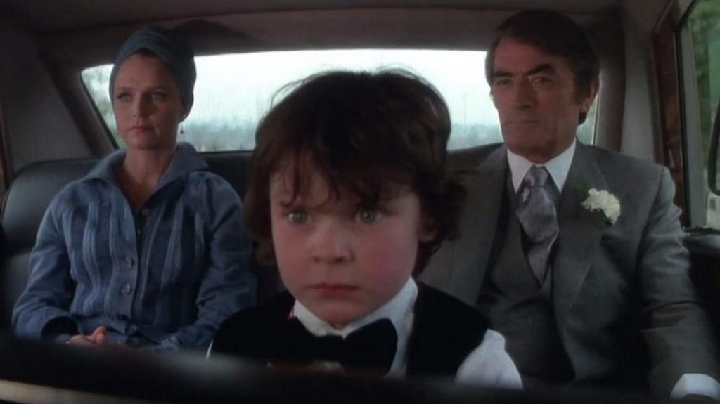 the omen in the car